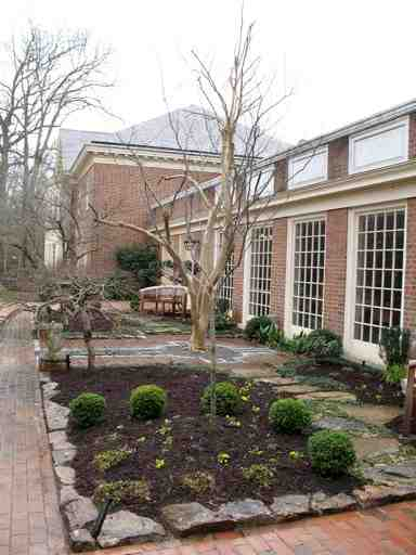 Photos of Myers Park Baptist Church gardens by John Newman