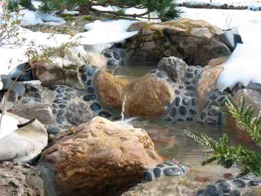 Photos of water features by John Newman